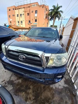 Toyota Tacoma 2007 Regular Cab Automatic Blue | Cars for sale in Lagos State, Ikeja