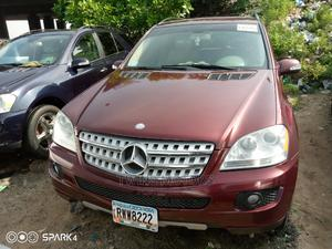 Mercedes-Benz M Class 2009 ML350 AWD 4MATIC Red   Cars for sale in Lagos State, Apapa
