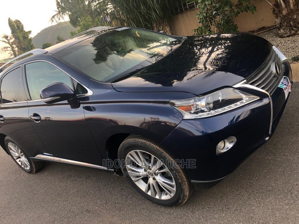 Archive: Lexus RX 2013 Blue