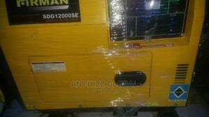 10kva Firman Diesel Soundproof Generator % 100% Copper Coil | Electrical Equipment for sale in Lagos State, Victoria Island