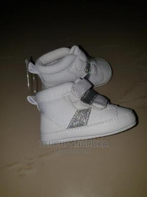 White Soft Canvas for Babies   Children's Shoes for sale in Lagos State, Amuwo-Odofin