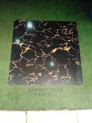 Black and Gold Floor Tiles 60X60   Building Materials for sale in Lagos State, Orile