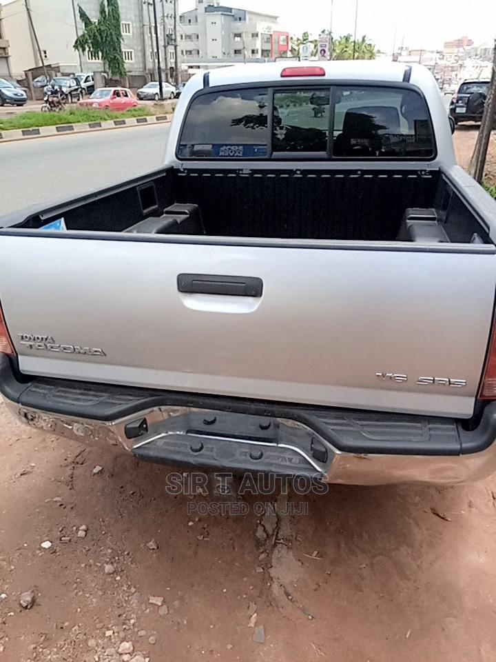 Toyota Tacoma 2008 4x4 Double Cab Silver   Cars for sale in Ibadan, Oyo State, Nigeria