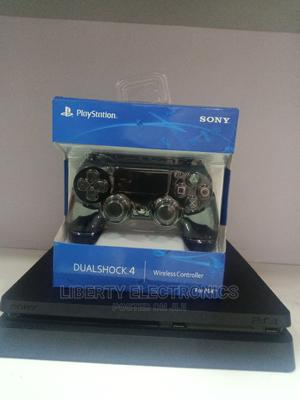Ps4 Slim FIFA 21, MK 11 and 2 Controllers | Video Game Consoles for sale in Lagos State, Ikeja