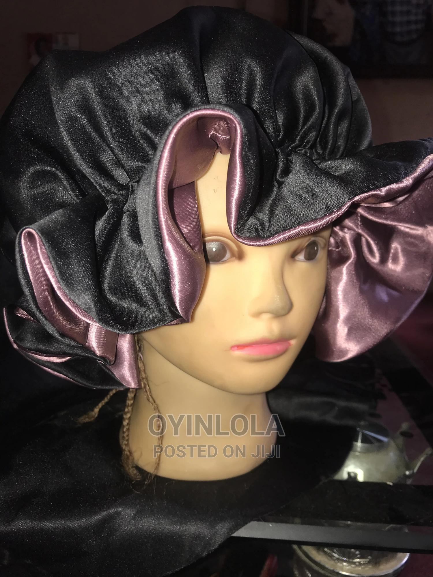 Archive: Satin Hair Bonnet (Two Sided)