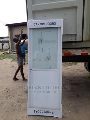Aluminum Door Toilet Door | Doors for sale in Lagos State, Orile