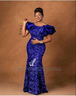 High Quality Sequence Dinner Gown   Clothing for sale in Lagos State, Ikeja