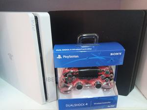 Ps4 Slim, FIFA 21+MK11+7 Free Trial Games and Controller   Video Game Consoles for sale in Ondo State, Okitipupa