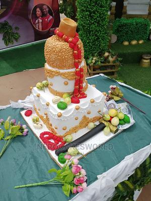 Traditional Marriage Cake   Wedding Venues & Services for sale in Delta State, Ugheli