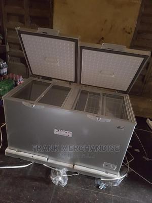 Scanfrost Chest Freezer 600litters Douben Door 100%Copper | Kitchen Appliances for sale in Lagos State, Amuwo-Odofin