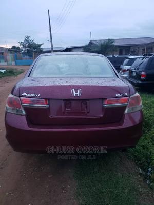 Honda Accord 2009 2.0i Red | Cars for sale in Oyo State, Ibadan