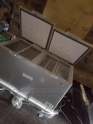 Scanfrost Chest Freezer 600litters Douben Door 100%Copper | Kitchen Appliances for sale in Lagos State, Magodo