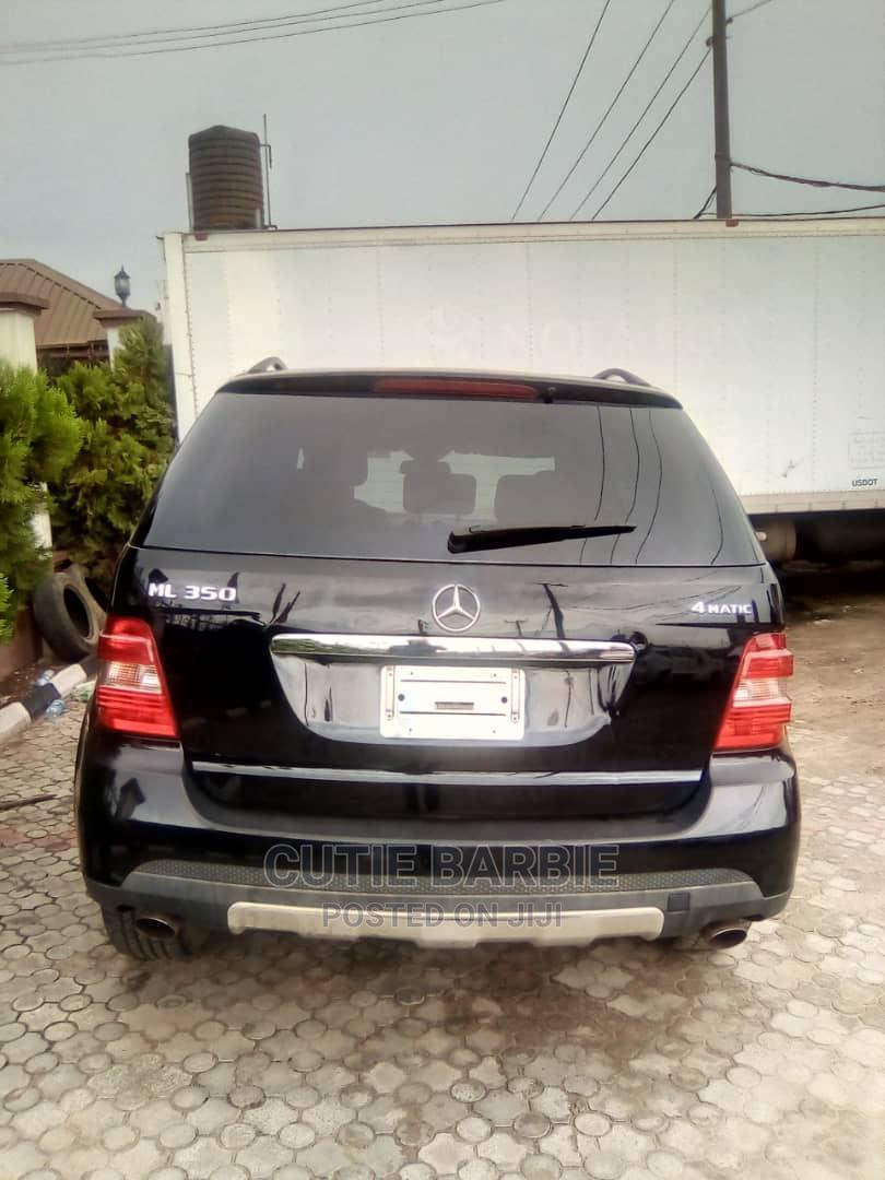 Mercedes-Benz M Class 2007 ML 350 4Matic Black   Cars for sale in Lagos Island (Eko), Lagos State, Nigeria