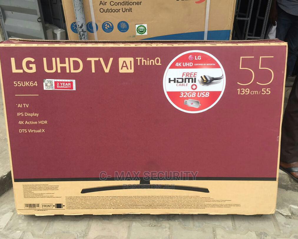 Archive: LG 4ksmart 55 Inches Tv