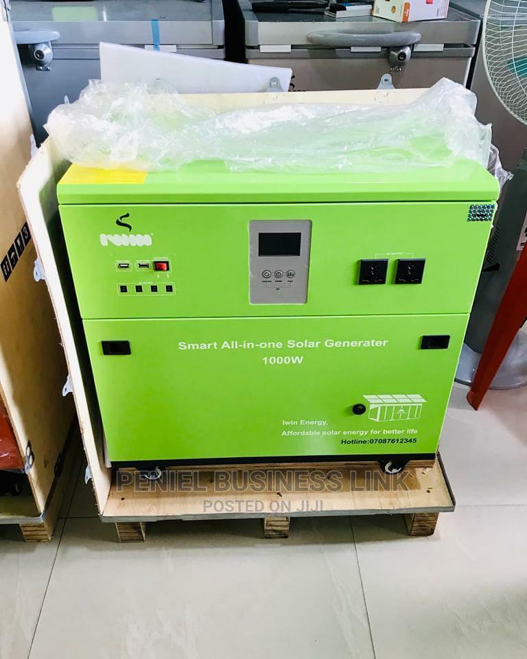 1000watts Solar Generator