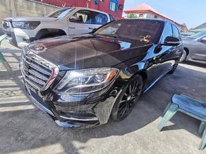 Mercedes-Benz S Class 2015 S 500 4MATIC (W222) Black   Cars for sale in Lagos State, Amuwo-Odofin