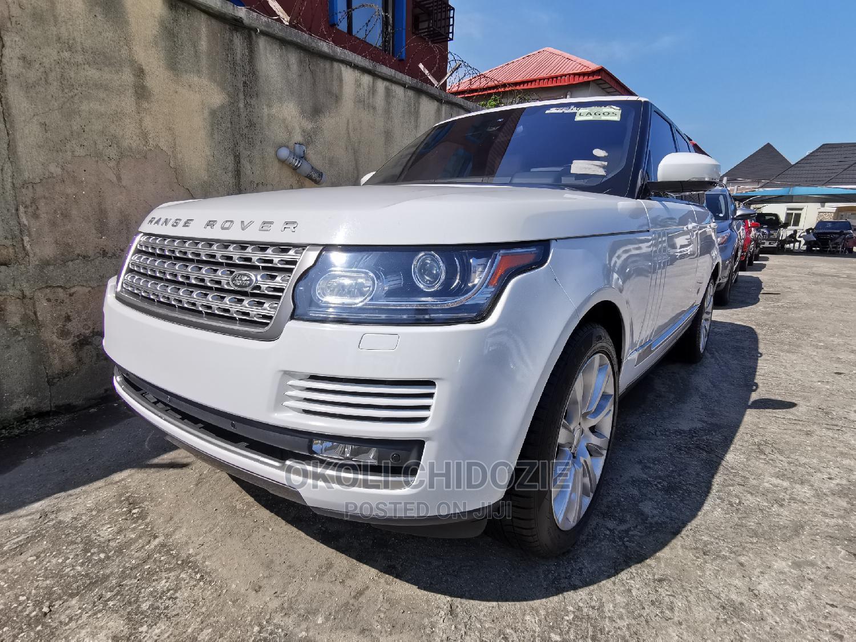 Land Rover Range Rover 2016 White