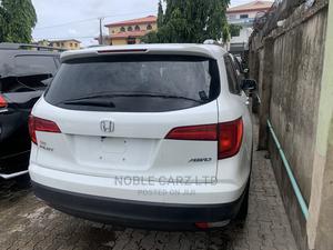 Honda Pilot 2016 White | Cars for sale in Lagos State, Ikeja