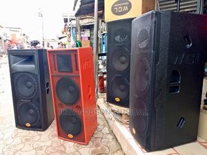 Double Acoustic Speakers (Pair) | Audio & Music Equipment for sale in Lagos State, Surulere
