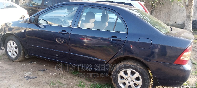 Toyota Corolla 2003 Sedan Blue | Cars for sale in Ikotun/Igando, Lagos State, Nigeria