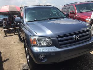 Toyota Highlander 2005 V6 4x4 Gray   Cars for sale in Lagos State, Amuwo-Odofin