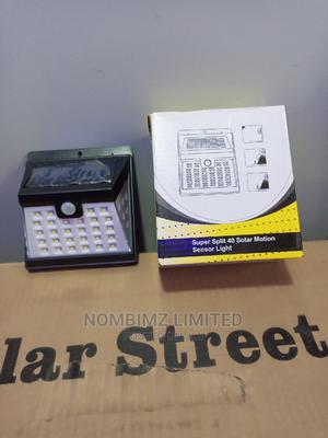 Super Spilt 40 Solar Sensor Motion Light | Solar Energy for sale in Lagos State, Ojo
