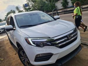 Honda Pilot 2016 White | Cars for sale in Lagos State, Ogba