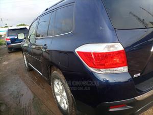 Toyota Highlander 2012 SE Blue   Cars for sale in Delta State, Oshimili South