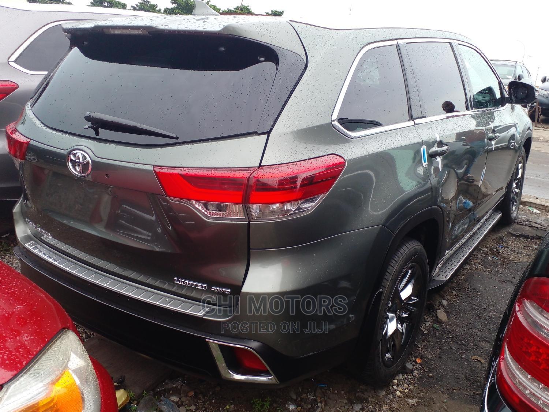 Toyota Highlander 2018 Green | Cars for sale in Apapa, Lagos State, Nigeria