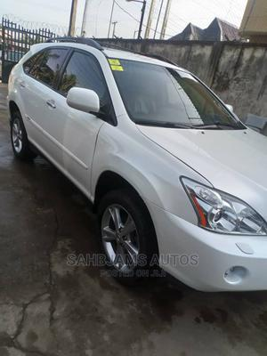 Lexus RX 2008 400h AWD White   Cars for sale in Lagos State, Isolo