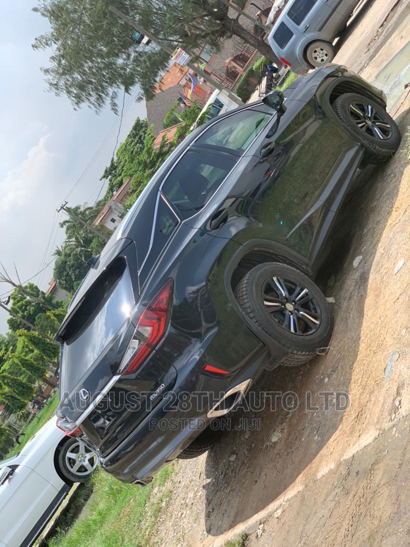 Lexus RX 2017 350 FWD Black   Cars for sale in Amuwo-Odofin, Lagos State, Nigeria