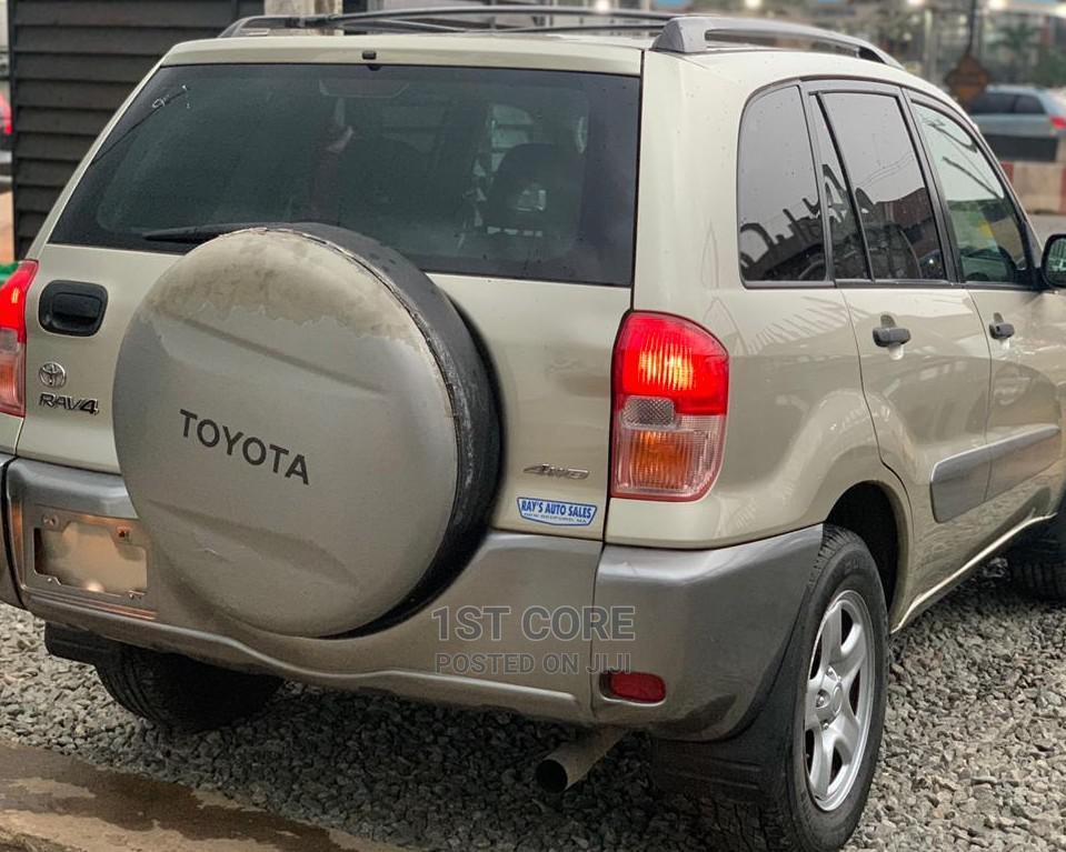 Archive: Toyota RAV4 2003 Automatic Gold