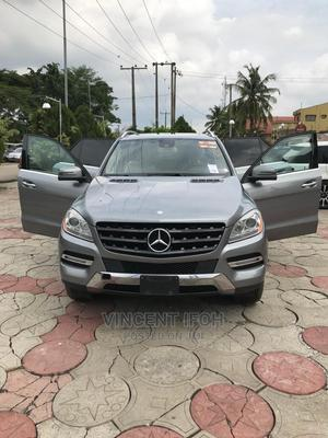 Mercedes-Benz M Class 2013 ML 350 4Matic Gray   Cars for sale in Lagos State, Amuwo-Odofin
