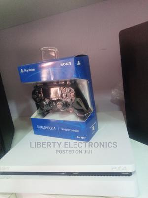 Ps4 Slim + FIFA 21, 7 Free Trial Games and Controller   Video Game Consoles for sale in Abia State, Aba South