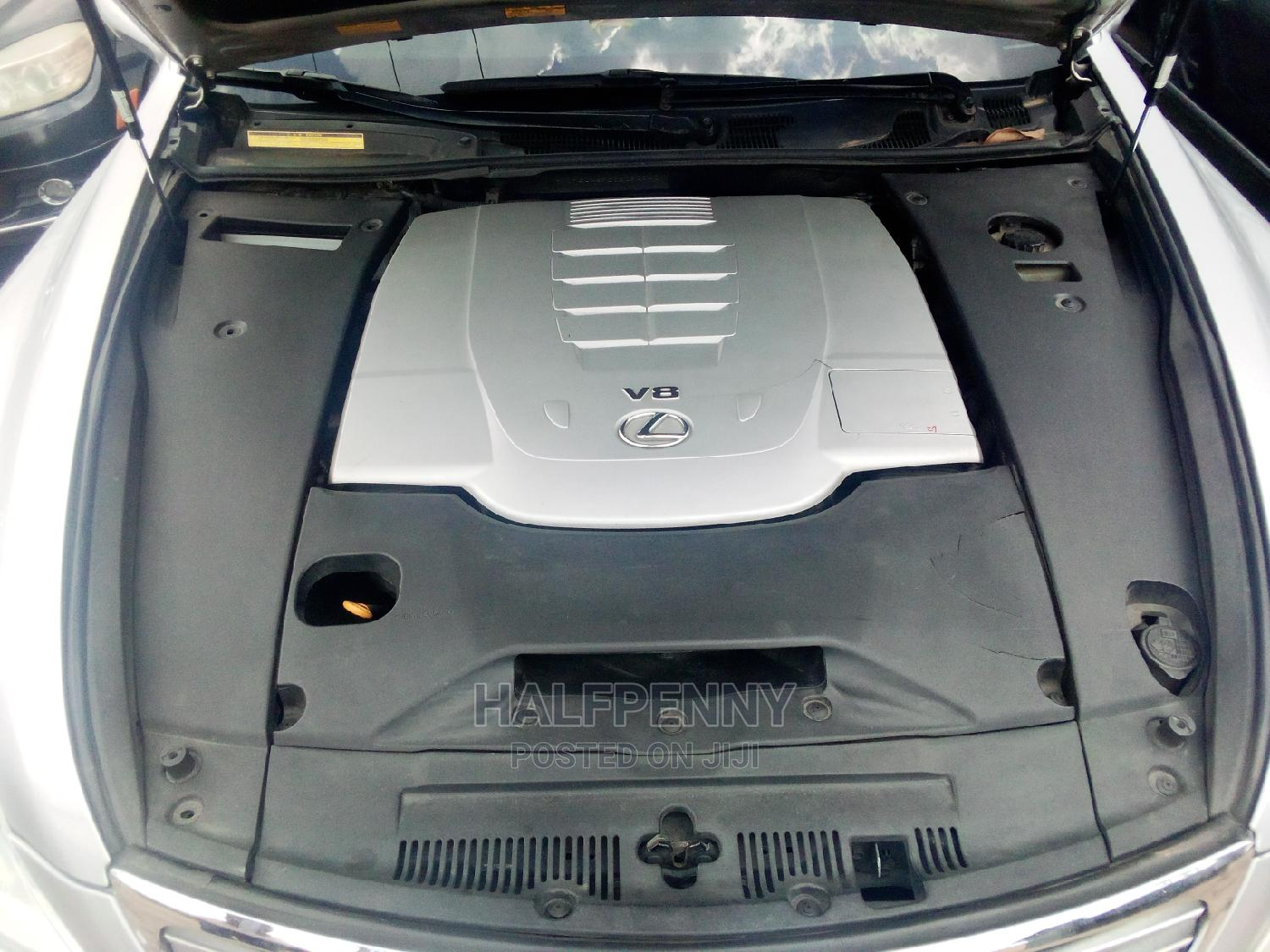 Lexus LS 2008 460 Silver | Cars for sale in Isolo, Lagos State, Nigeria