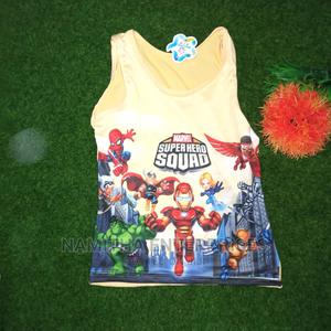 Kids Character Singlets (1- 6years) | Children's Clothing for sale in Abuja (FCT) State, Jabi