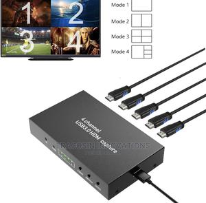 4 Channel Video Capture Card USB3.0 1080P 60fps Recording | Accessories & Supplies for Electronics for sale in Lagos State, Yaba