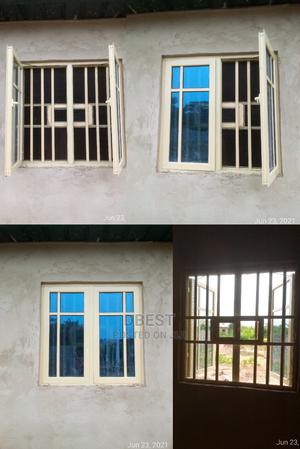 12mm by 12mm(3in1) Aluminum Casement Windows | Windows for sale in Lagos State, Abule Egba