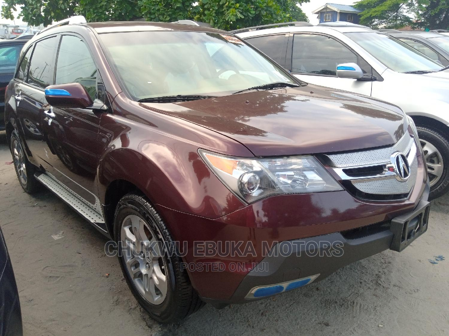 Acura MDX 2009 Red
