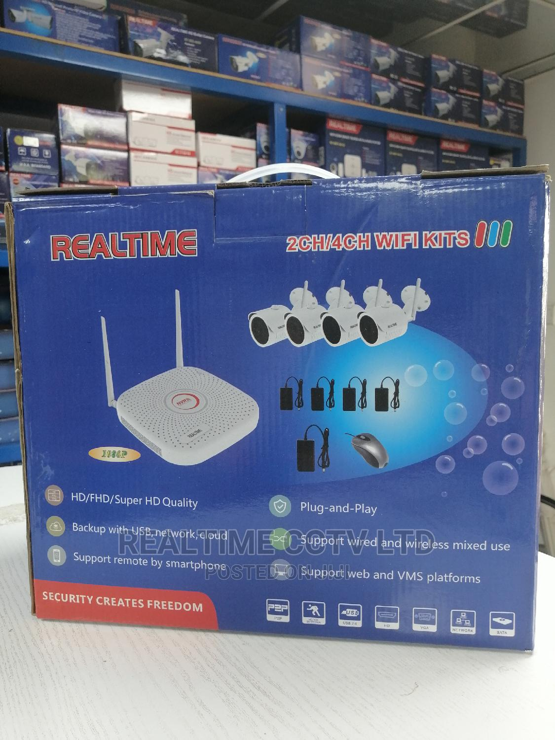 Archive: Realtime Wireless/Wired CCTV Combo