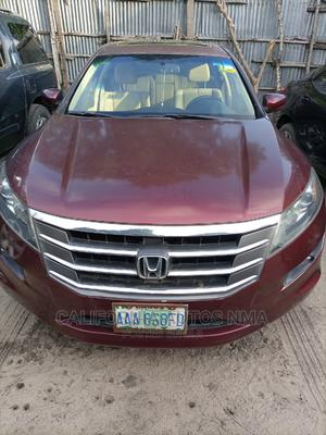 Honda Accord CrossTour 2010 EX-L AWD Red | Cars for sale in Lagos State, Amuwo-Odofin