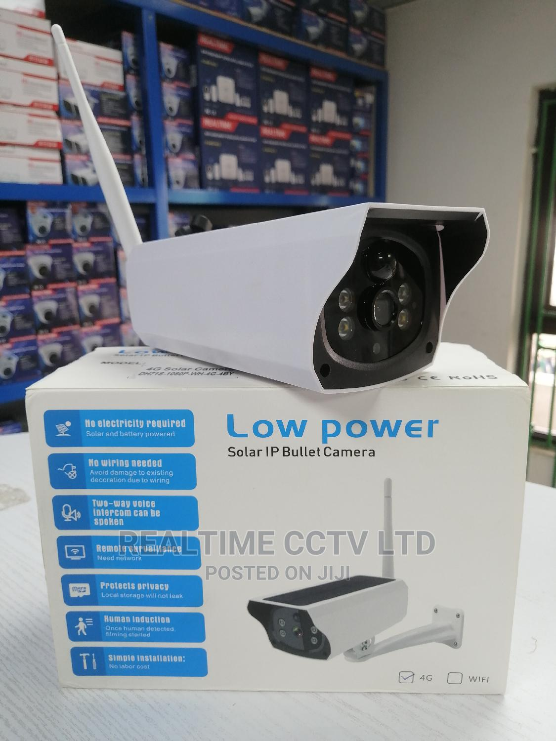 Archive: 4G Solar Stand Alone Outdoor Camera