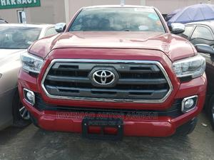 Toyota Tacoma 2016 4dr Double Cab Red | Cars for sale in Lagos State, Amuwo-Odofin