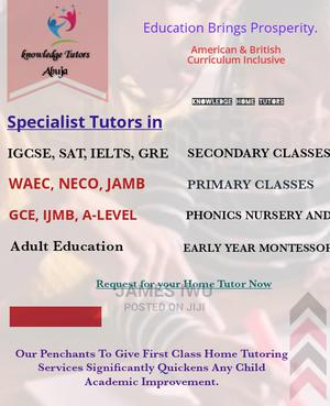 Private Home Tutors. | Child Care & Education Services for sale in Abuja (FCT) State, Gwarinpa