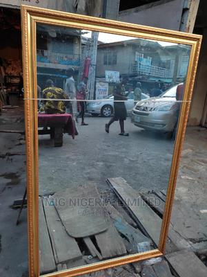 Wall Long Gold Mirror 5ftx3ft. | Home Accessories for sale in Lagos State, Lekki