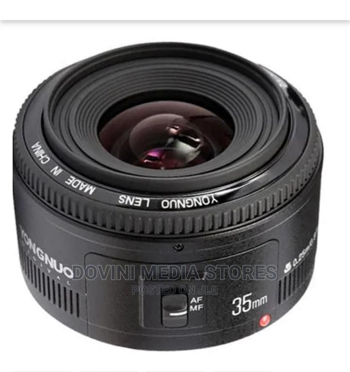 YN 35mm Wide Angle Prime Lens for Canon   Accessories & Supplies for Electronics for sale in Port-Harcourt, Rivers State, Nigeria