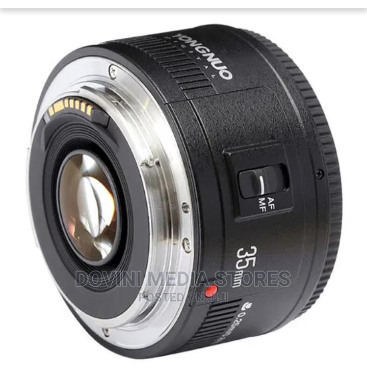 YN 35mm Wide Angle Prime Lens for Canon