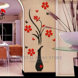 Wall Sticker Vase Flower   Home Accessories for sale in Lagos State, Lagos Island (Eko)