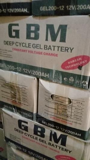 12v 200ahs GBM Solar Battery | Solar Energy for sale in Lagos State, Ojo