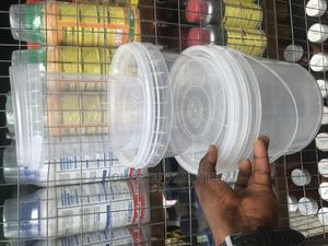 Transparent Ice Cream Bucket | Manufacturing Materials for sale in Lagos State, Surulere